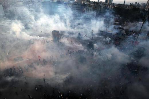 Trzynasty dzień protestów w Stambule