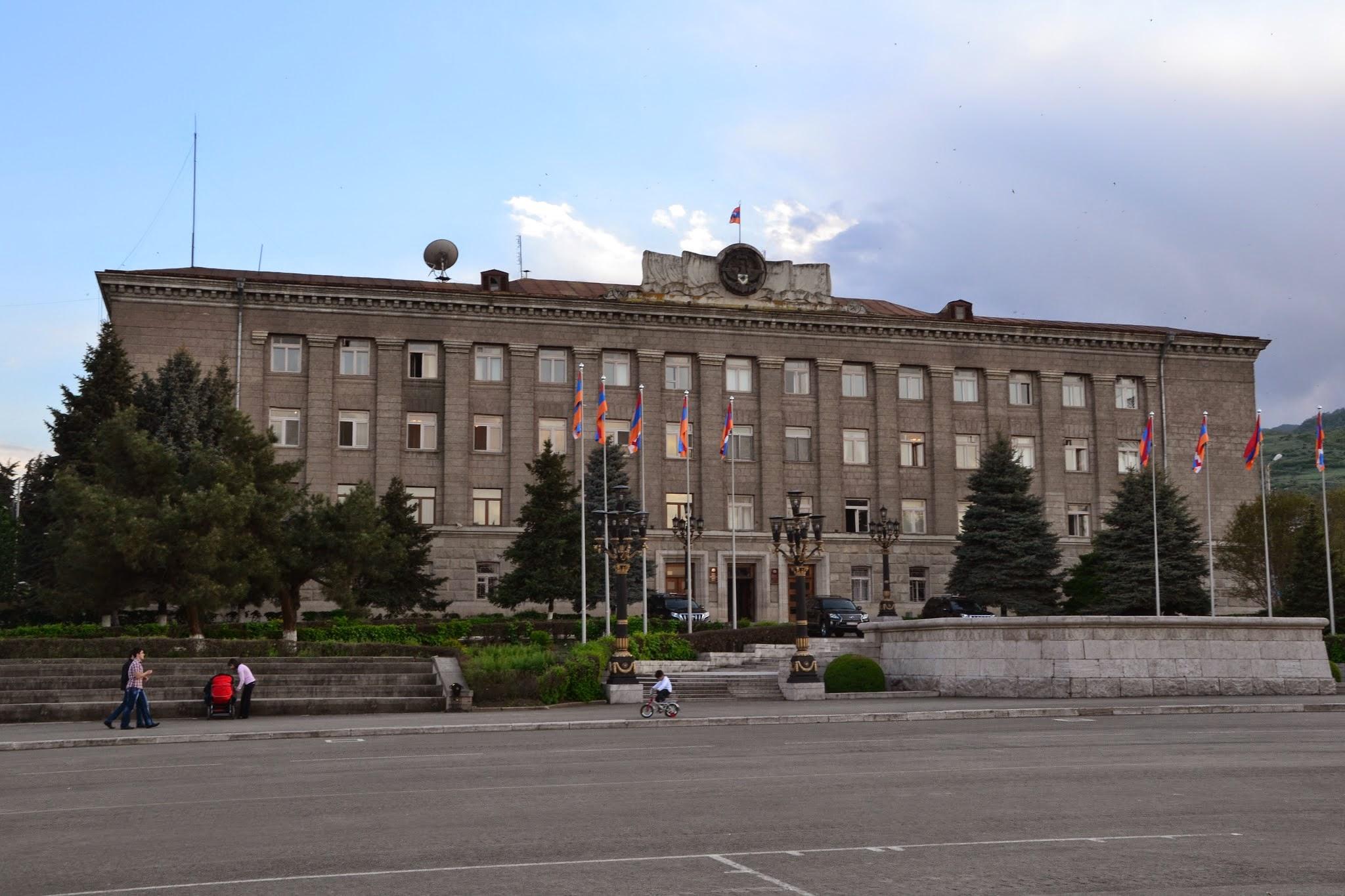 Budynek rządowy w Stepanakert