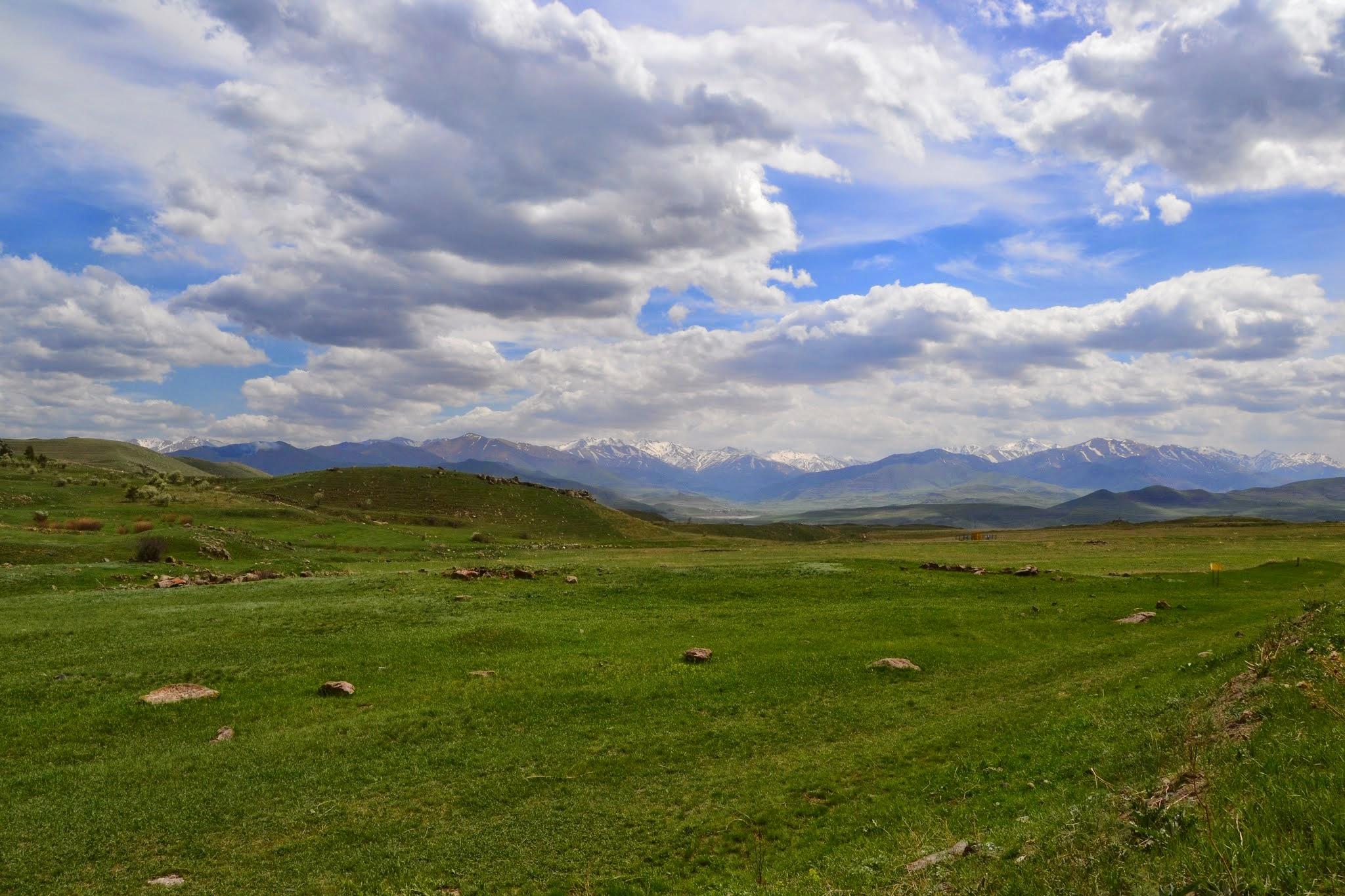 Widoki w drodze do Górskiego Karabachu