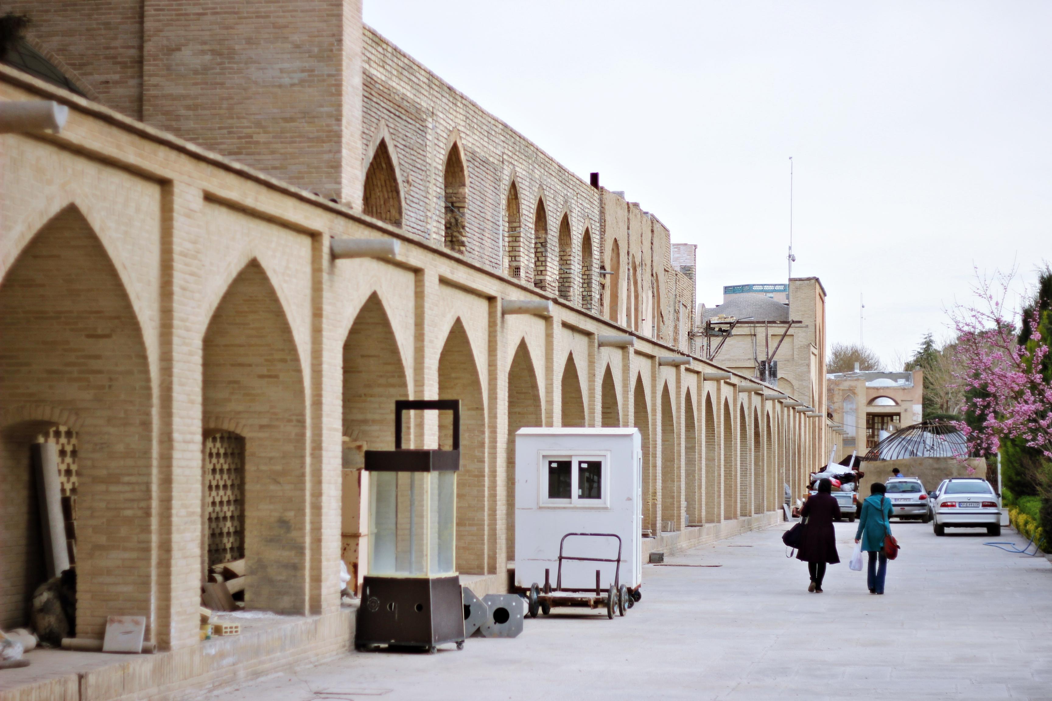 Pierwszy dzień w Iranie. Pierwszy dzień w Isfahanie