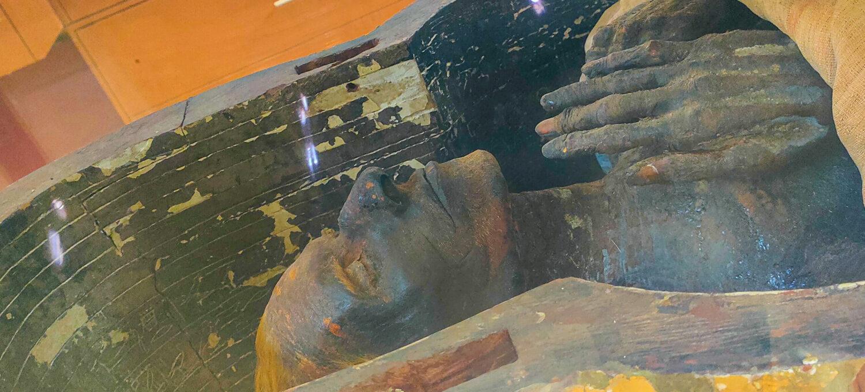 klątwa faraona mumia